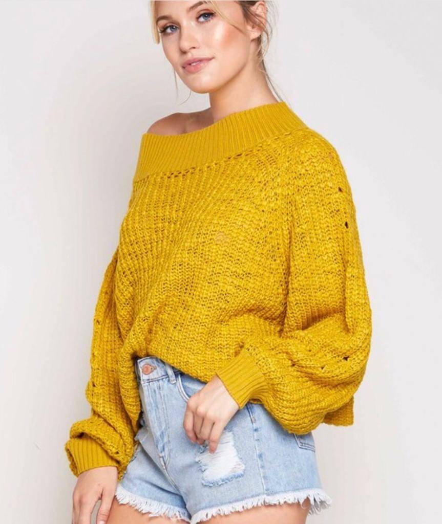 Honey Bee Sweater