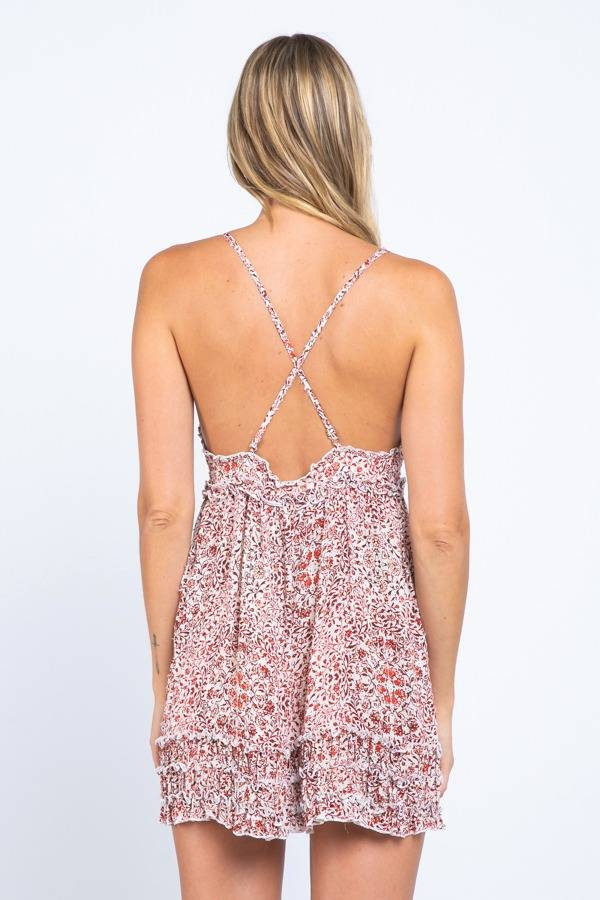 Lucy May Floral Dress