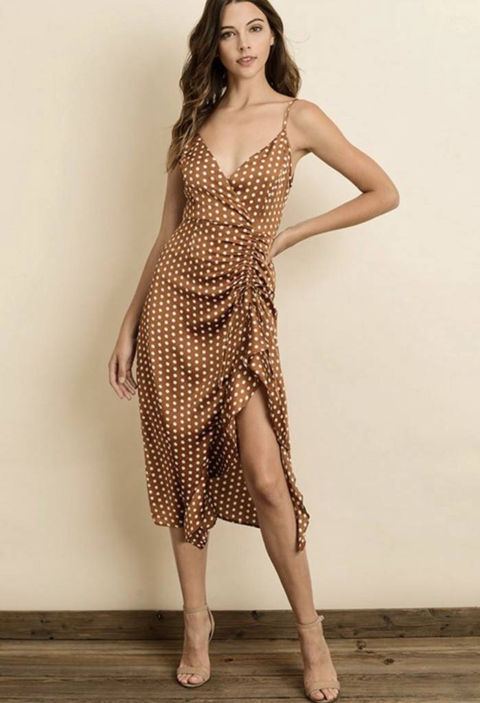 Charlotte Polka Dot Dress