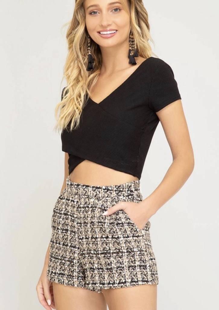Jenny Tweed Shorts