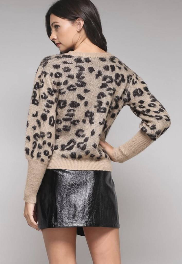 Chloe Leopard Sweater