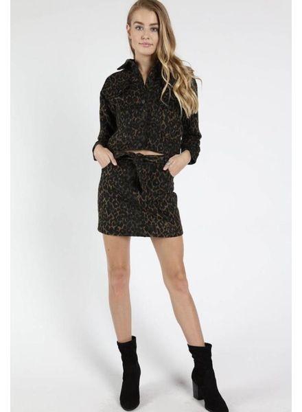 Night Leopard Jacket