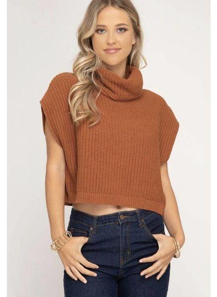 Keep It Cool Turtleneck Sweater