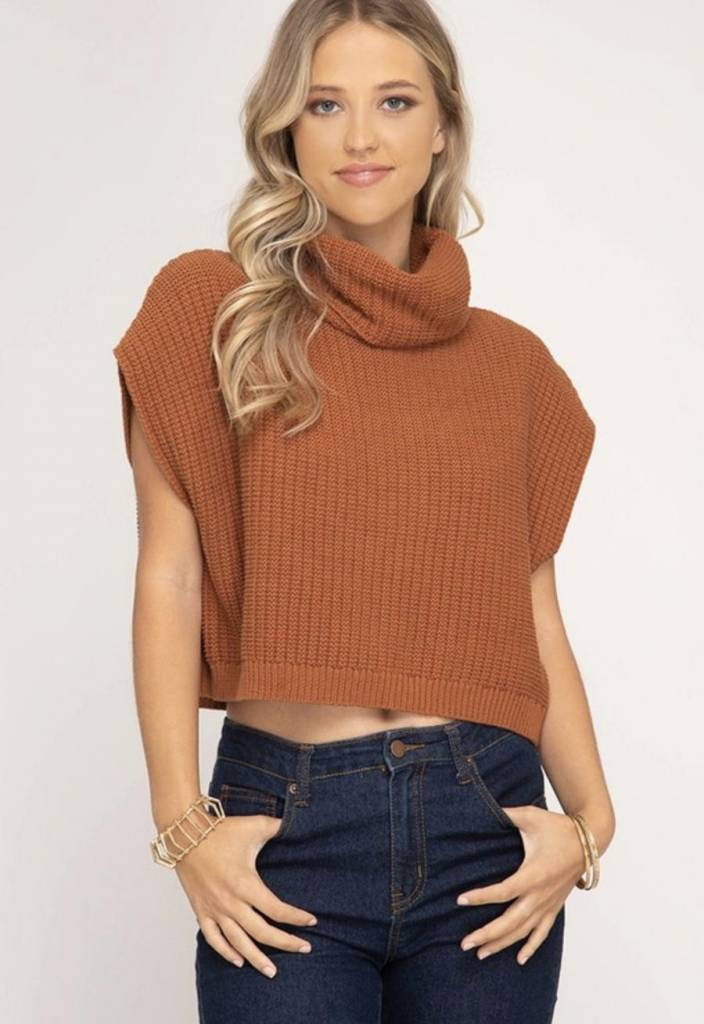 Keep It Cool Turtleneck Sweater