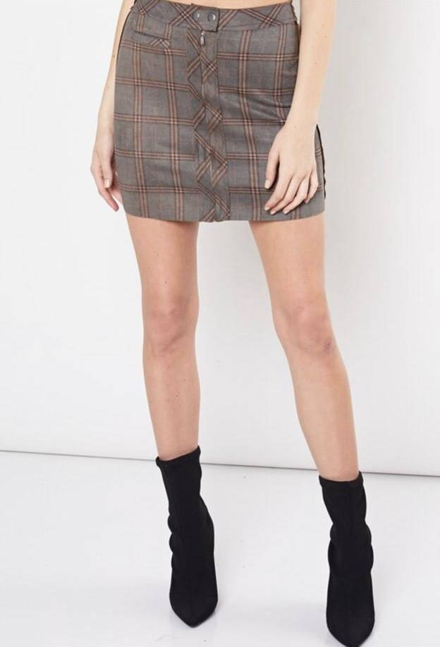 Kensington Plaid Mini