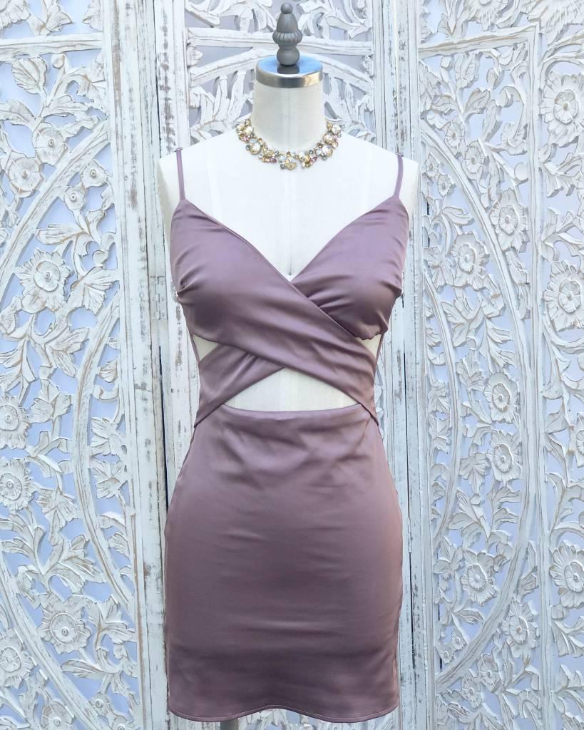 Caterina Satin Dress