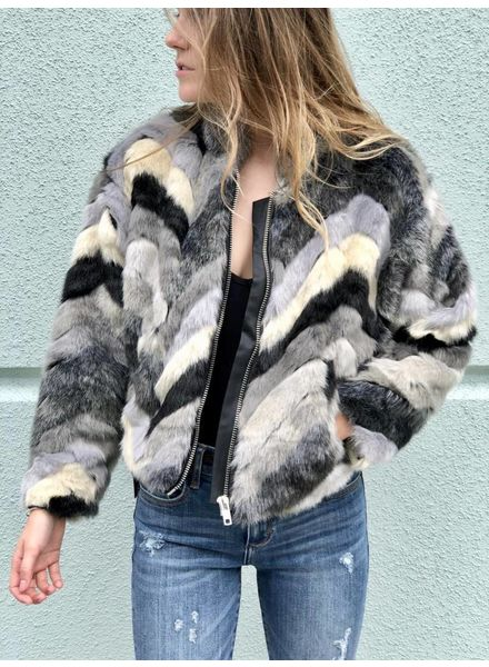 Foxy Fur Jacket