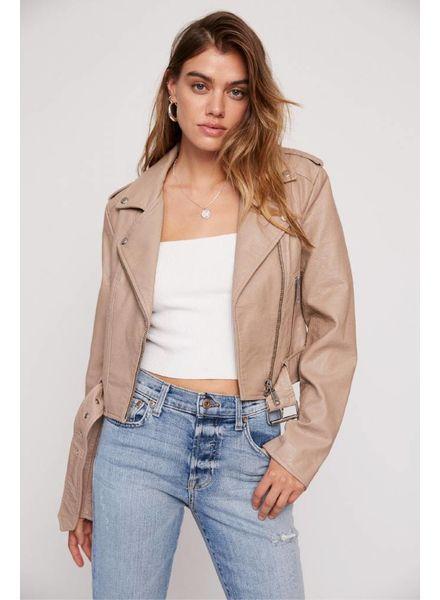 Tracy Vegan Leather Jacket