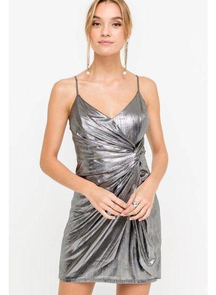 Lunar Ruched Dress