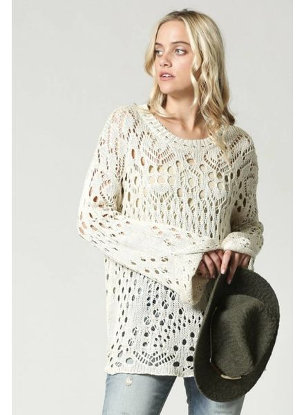 Amara Open-Knit Sweater