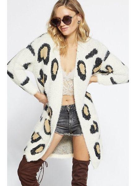 Oakley Leopard Cardigan