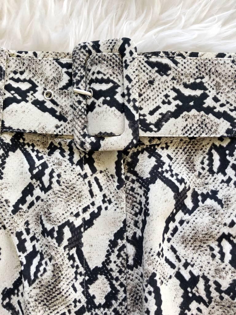 Shanti Python Shorts