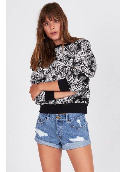 Palm Society Fleece Pullover