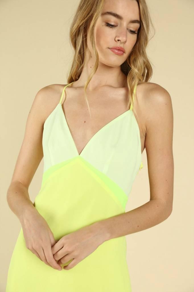Neon Glow Dress