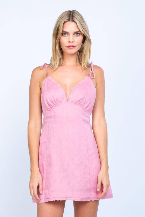 Smitten Linen Dress