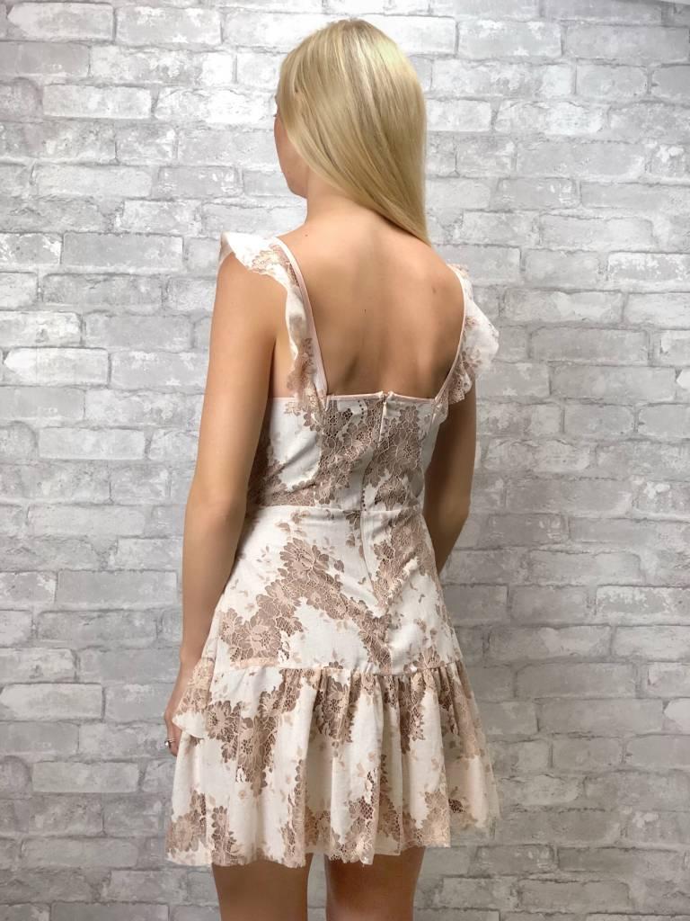 Antoinette Scattered Lace Dress