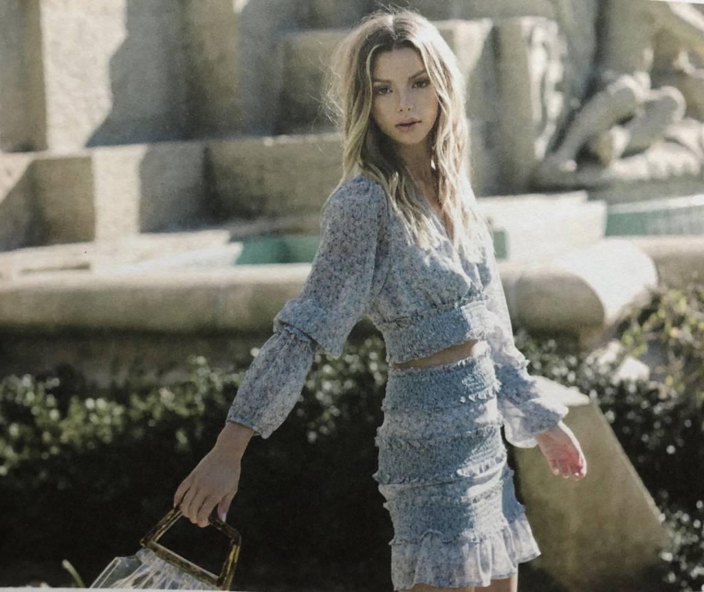 Millie Floral Skirt