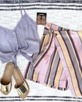 Sorbet Stripe Skirt