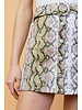 Gwen Python Skirt