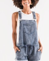 Zoey Denim Shortalls