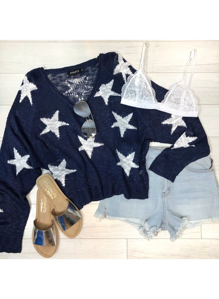 Shoot for the Stars Knit Top
