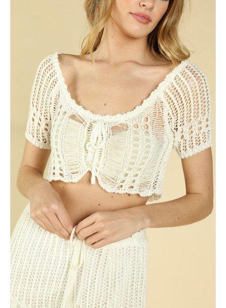 Lola Crochet Top