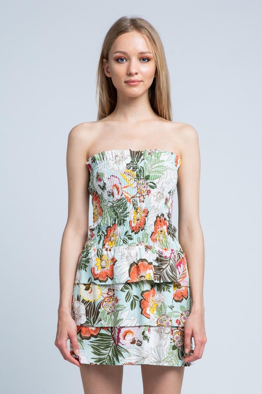 Mia Palm Dress