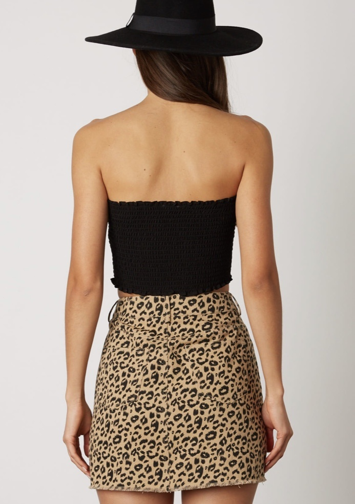 Brooklyn Leopard Skirt