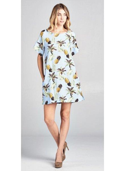 Piña  Colada Dress