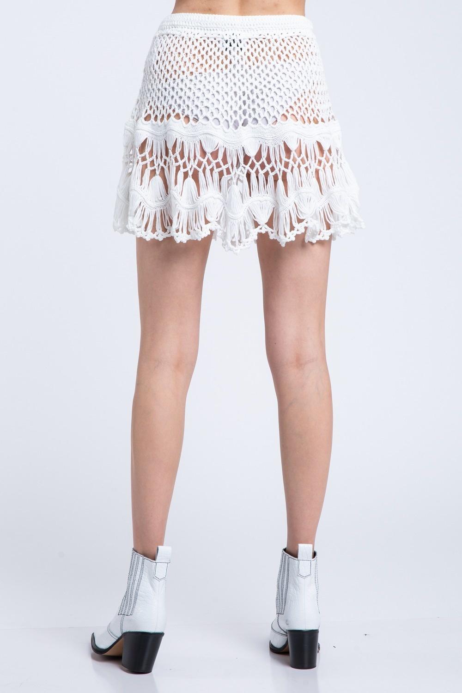 Peyton Crochet Skirt