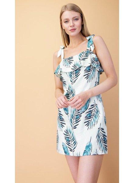 Maya Palm Dress