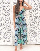 Tropical Night Jumpsuit