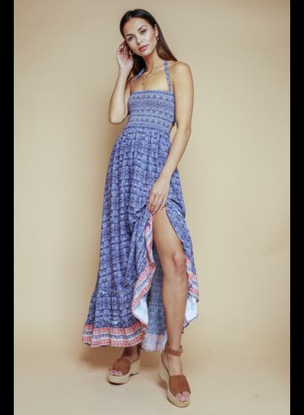 Reya Printed Maxi Dress