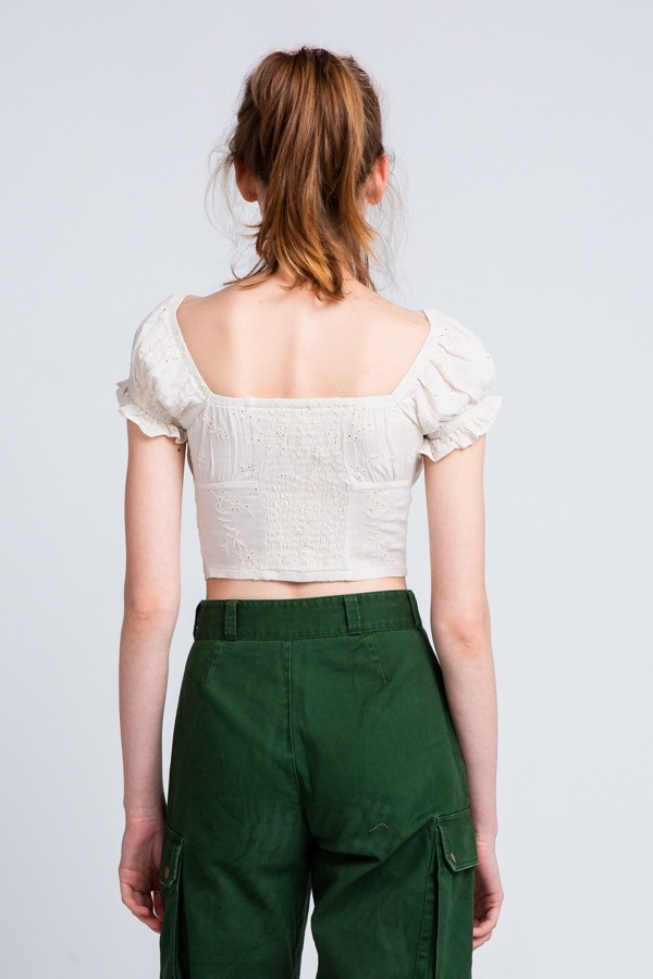 Willow Eyelet Top