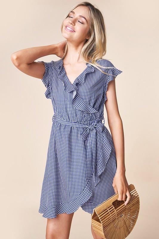 Elodie Wrap Dress