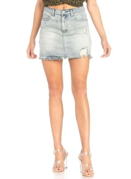 Cassie Denim Skirt