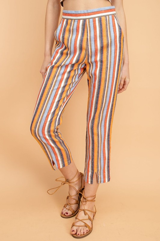 Sahara Striped Pants