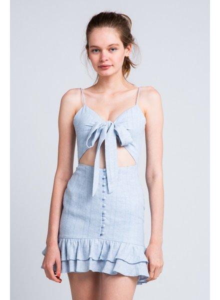 Emilia Linen  Dress