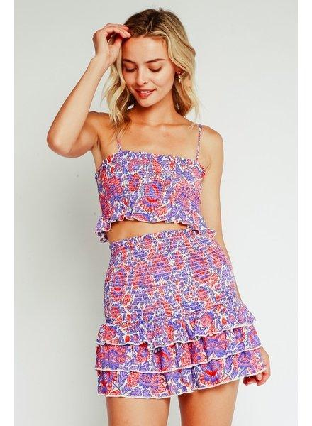 Liberty Smocked Skirt