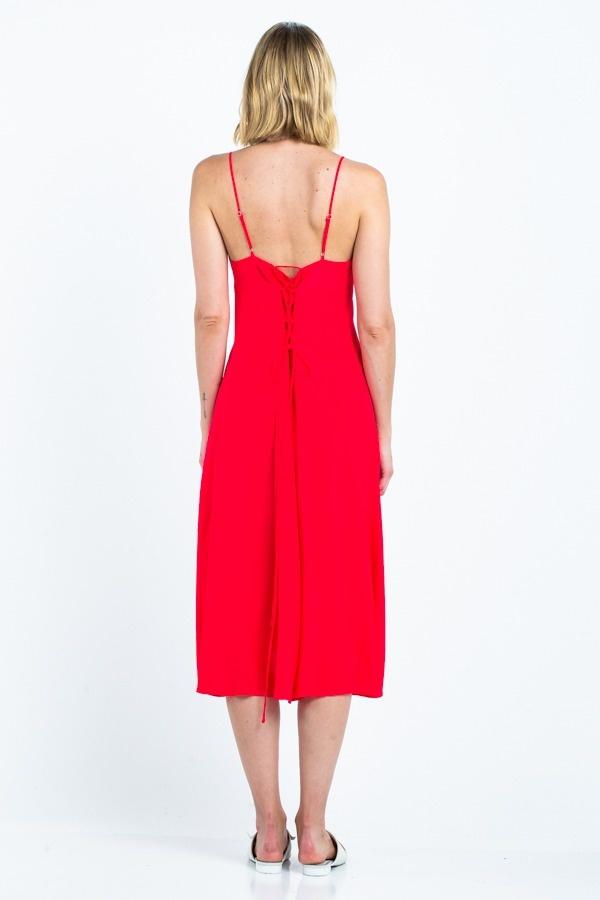 Cherry Midi Dress