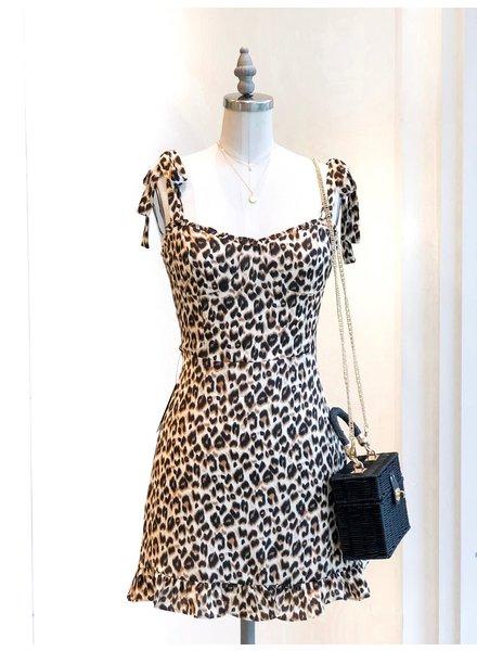 Audrina Leopard Dress