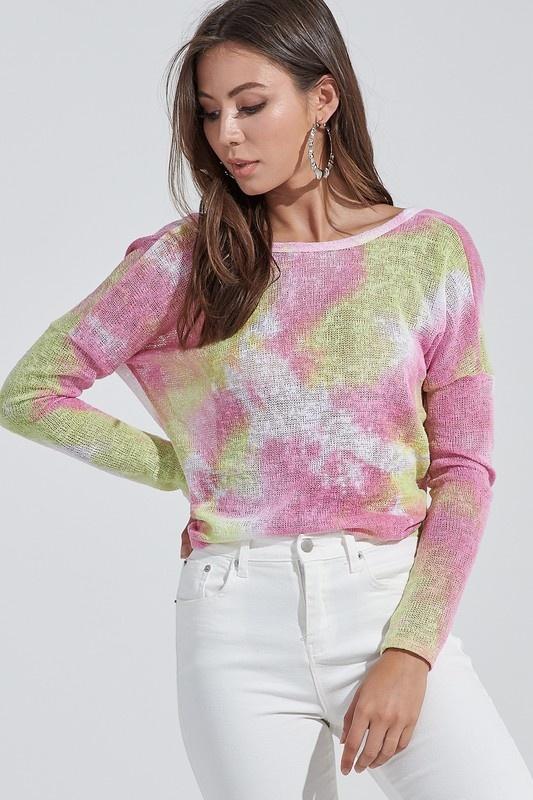 Sorbet Tie-Dye Sweater