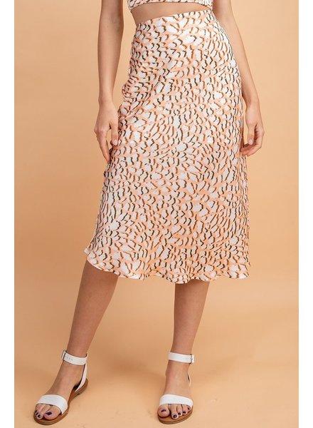 Orange Crush Skirt