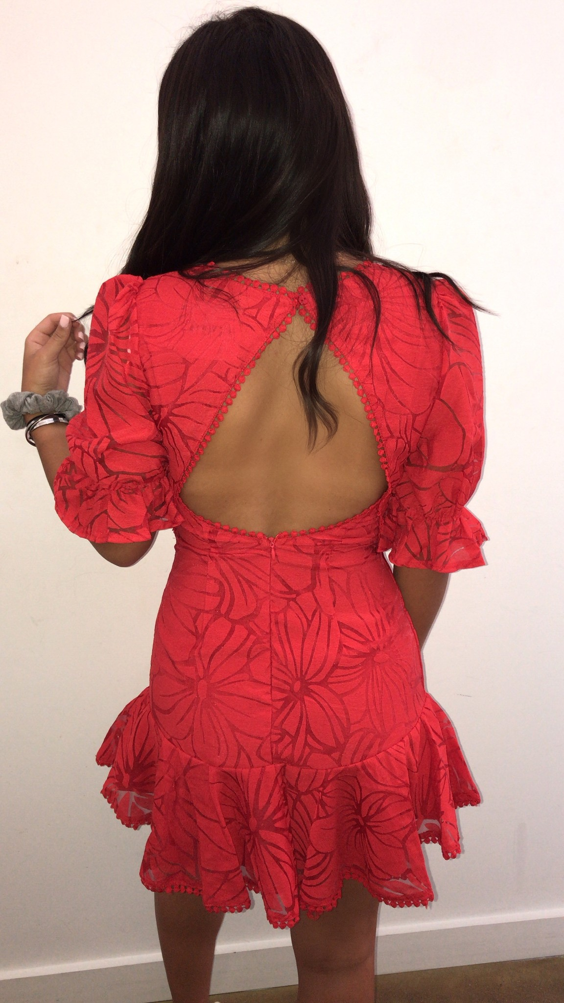 Sarita Open-Back Dress