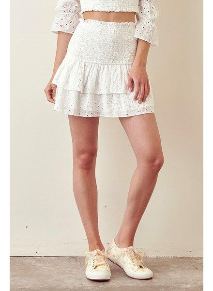 Naomi Eyelet Skirt