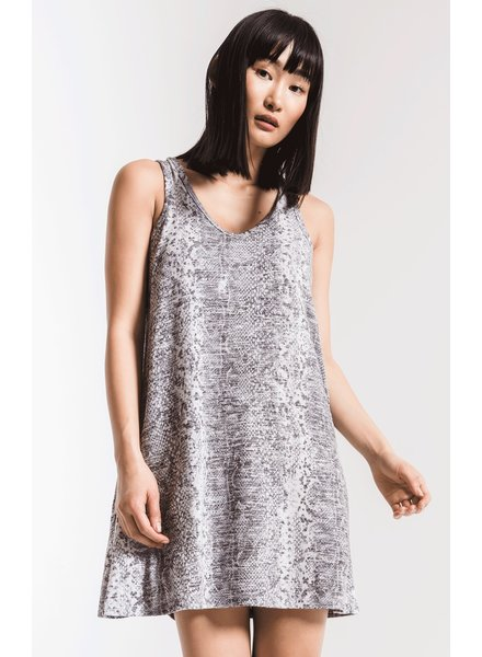 The Snakeskin Breezy Dress