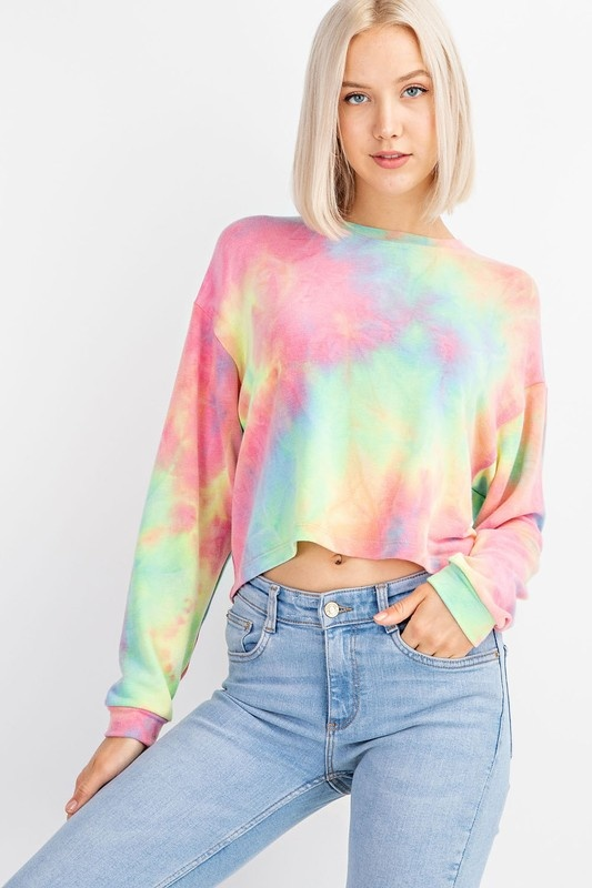 f84845d22721 Rainbow Tie-Dye Tee - Etiquette Boutique
