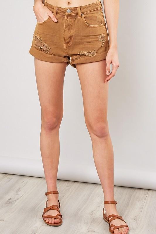 Freya Denim Shorts