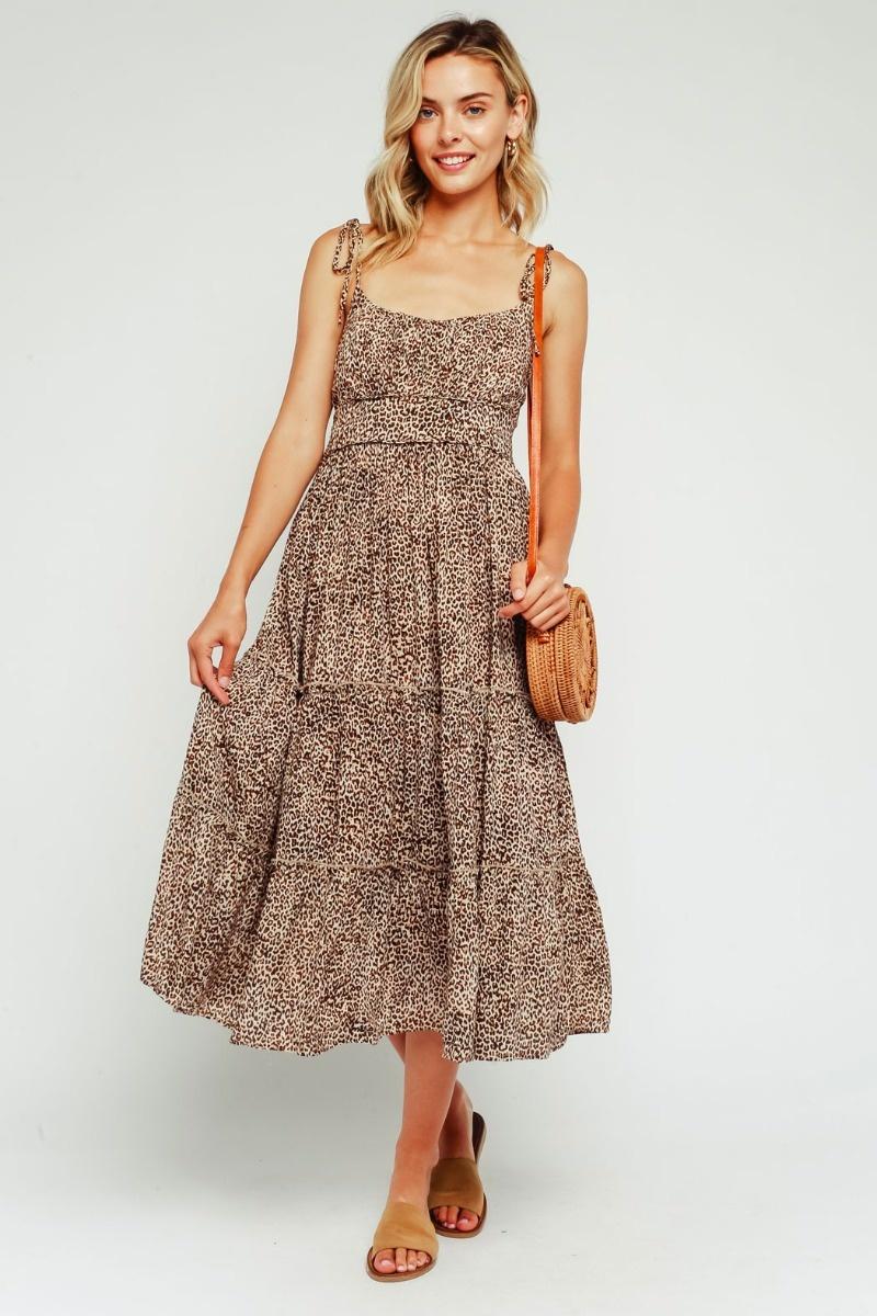 Wild Child Midi Dress