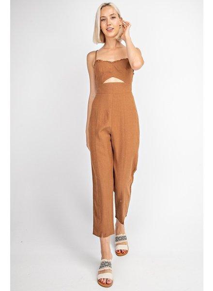 Carmela Linen Jumpsuit